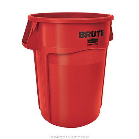 Rubbermaid FG264360RED Trash Garbage Waste Container Stationary