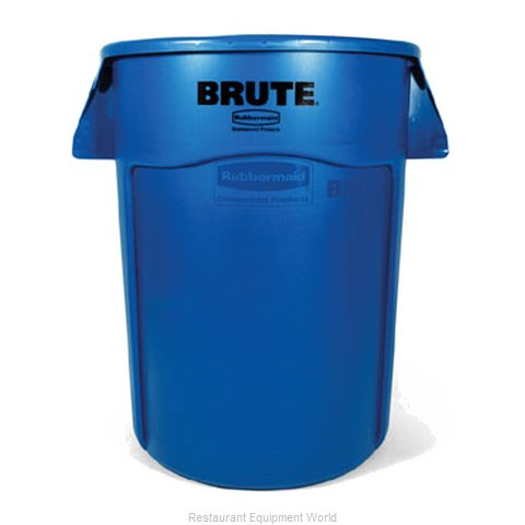 Rubbermaid FG264373BLUE Waste Receptacle Recycle
