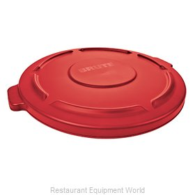 Rubbermaid FG264560RED Trash Receptacle Lid / Top