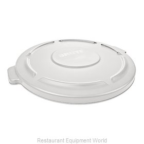 Rubbermaid FG264560WHT Cover, Garbage Waste Receptacle Can