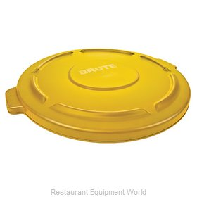 Rubbermaid FG264560YEL Cover, Garbage Waste Receptacle Can
