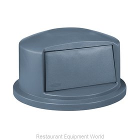 Rubbermaid FG264788GRAY Trash Receptacle Lid / Top