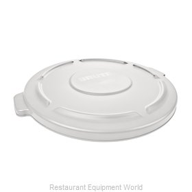 Rubbermaid FG265400WHT Cover, Garbage Waste Receptacle Can