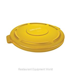 Rubbermaid FG265400YEL Cover, Garbage Waste Receptacle Can