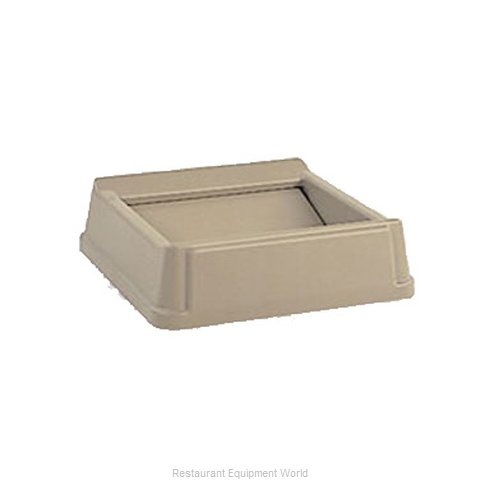 Rubbermaid FG266400BEIG Trash Receptacle Lid / Top