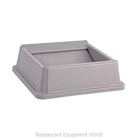 Rubbermaid FG266400GRAY Cover Garbage Waste Receptacle Can