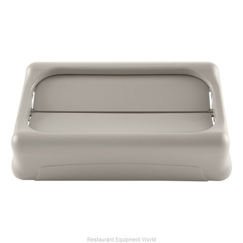 Rubbermaid FG267360BEIG Trash Receptacle Lid / Top