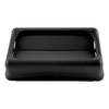 Rubbermaid FG267360BLA Trash Receptacle Lid / Top