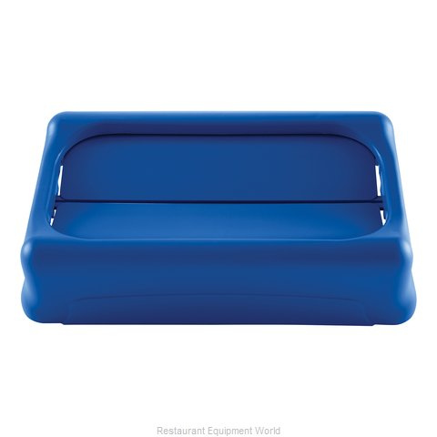 Rubbermaid FG267360BLUE Trash Receptacle Lid / Top