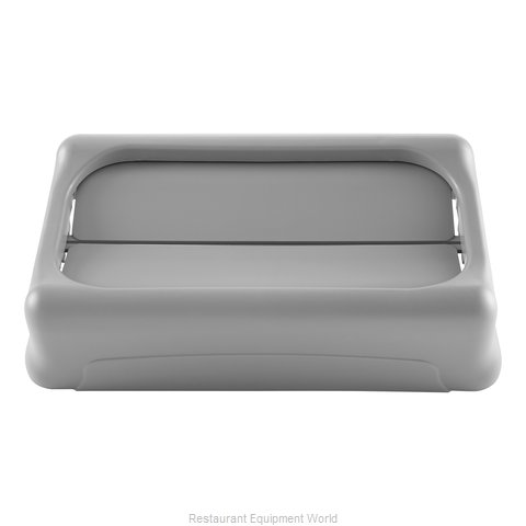 Rubbermaid FG267360GRAY Trash Receptacle Lid / Top
