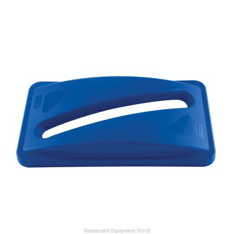 Rubbermaid FG270388BLUE Trash Receptacle Lid / Top