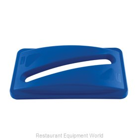Rubbermaid FG270388BLUE Cover Garbage Waste Receptacle Can