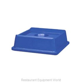 Rubbermaid FG279100DBLUE Cover Garbage Waste Receptacle Can