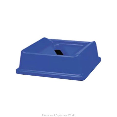 Rubbermaid FG279400DBLUE Trash Receptacle Lid / Top