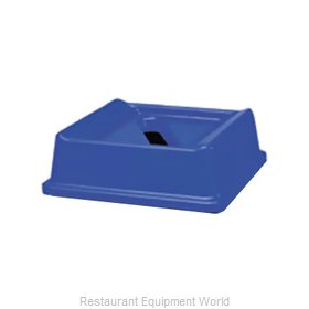 Rubbermaid FG279400DBLUE Cover Garbage Waste Receptacle Can