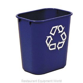 Rubbermaid FG295573BLUE Recycling Receptacle / Container