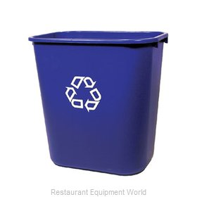 Rubbermaid FG295673BLUE Recycling Receptacle / Container