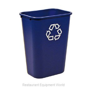 Rubbermaid FG295773BLUE Recycling Receptacle / Container