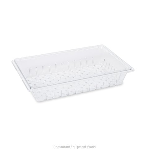 Rubbermaid FG330300CLR Food Storage Container Drain Tray