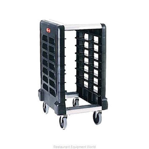 Rubbermaid FG331500BLA Prep Cart Pan Rack w Work Top
