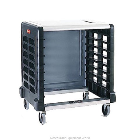 Rubbermaid FG331600BLA Pan Rack with Work Top, Mobile