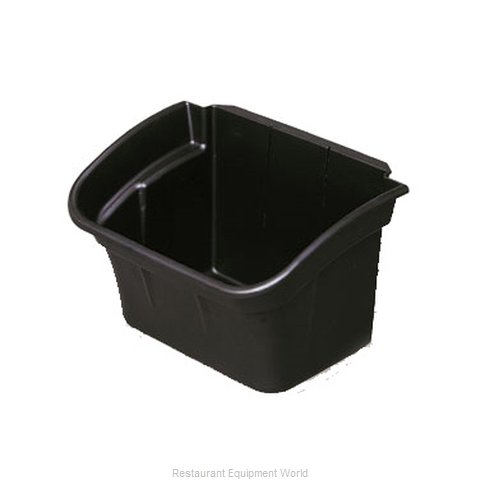 Rubbermaid FG335488BLA Trash Receptacle, for Bus Cart