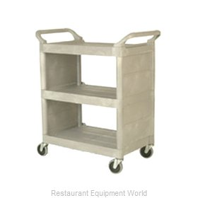 Rubbermaid FG335588PLAT Cart, Transport Utility