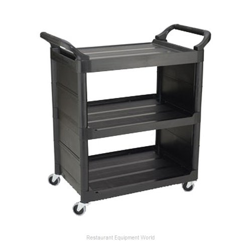 Rubbermaid FG342100BLA Utility Cart