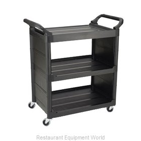 Rubbermaid FG342100BLA Cart, Transport Utility