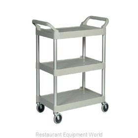 Rubbermaid FG342488PLAT Cart, Transport Utility