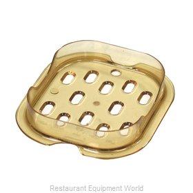Rubbermaid FG345600AMBR Food Pan Drain Tray