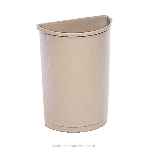 Rubbermaid FG352000BEIG Trash Garbage Waste Container Stationary