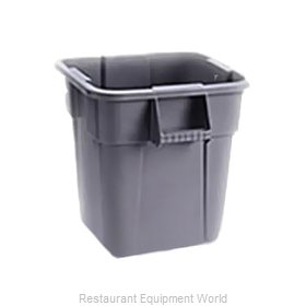 Rubbermaid FG352600GRAY Trash Can / Container, Commercial