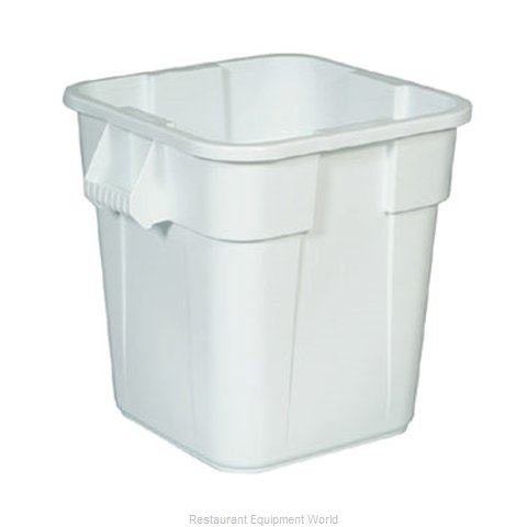 Rubbermaid FG352600WHT Trash Garbage Waste Container Stationary