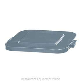 Rubbermaid FG352700GRAY Trash Receptacle Lid / Top