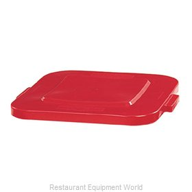 Rubbermaid FG352700RED Cover, Garbage Waste Receptacle Can