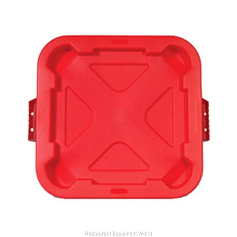 Rubbermaid FG352900RED Trash Receptacle Lid / Top