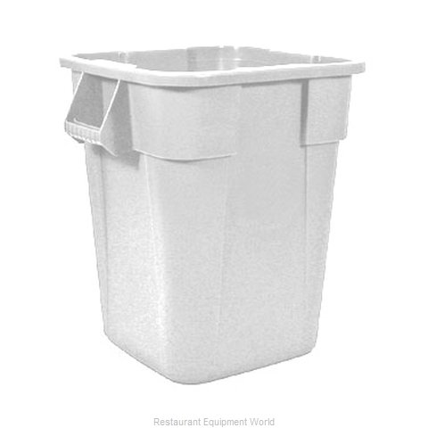 Rubbermaid FG353600WHT Trash Garbage Waste Container Stationary