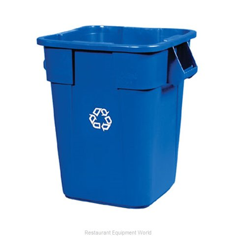 Rubbermaid FG353673BLUE Waste Receptacle Recycle