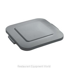 Rubbermaid FG353900GRAY Cover, Garbage Waste Receptacle Can