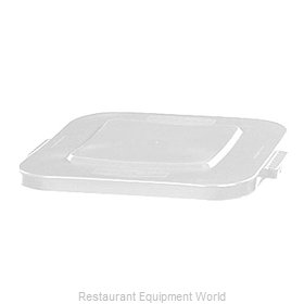 Rubbermaid FG353900WHT Trash Receptacle Lid / Top