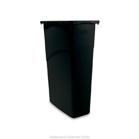Rubbermaid FG354000BLA Trash Garbage Waste Container Stationary