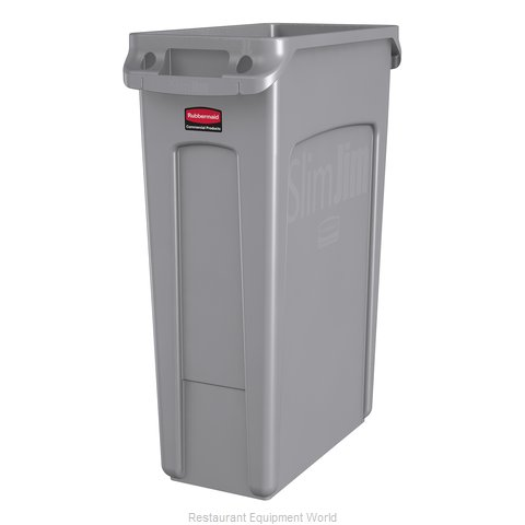 Rubbermaid FG354060GRAY Trash Garbage Waste Container Stationary