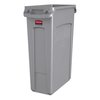 Rubbermaid FG354060GRAY Trash Receptacle, Indoor