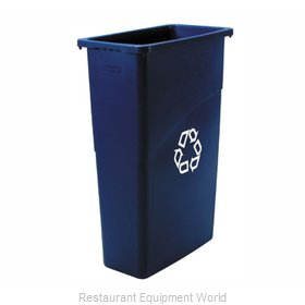 Rubbermaid FG354075BLUE Waste Receptacle Recycle