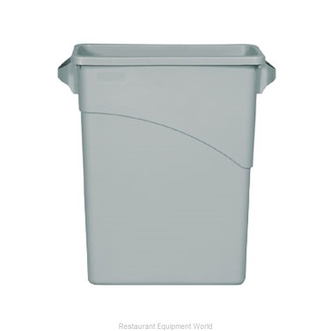 Rubbermaid FG354100LGRAY Trash Garbage Waste Container Stationary