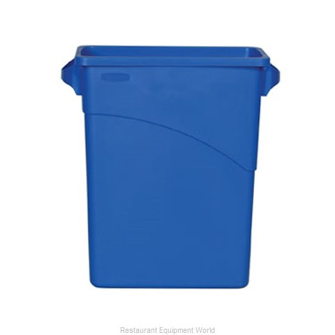 Rubbermaid FG354173BLUE Waste Receptacle Recycle