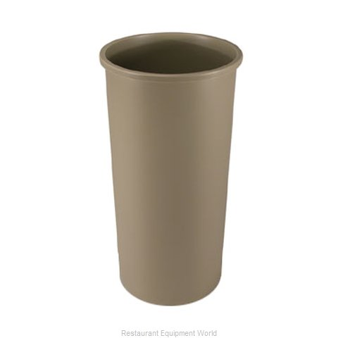 Rubbermaid FG354600BEIG Trash Receptacle, Indoor