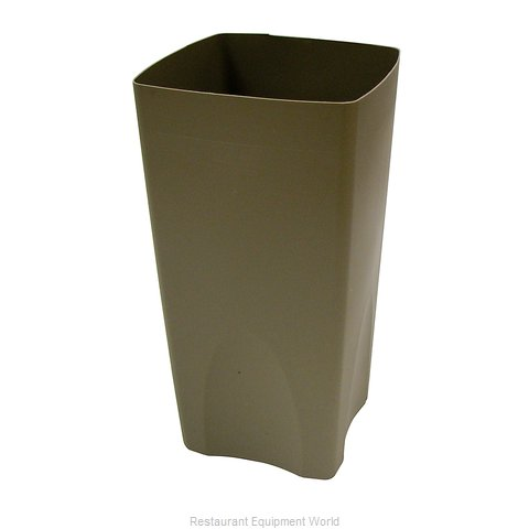 Rubbermaid FG356300BEIG Rigid Liner for Garbage Can