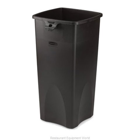 Rubbermaid FG356988BLA Trash Garbage Waste Container Stationary